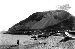 Llanfairfechan, Beach 1898