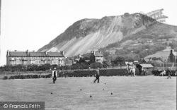 Llanfairfechan, Bowling Green c.1935