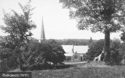Llanfairfechan, Church Looking To Anglesey 1892