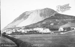 Llanfairfechan, From Railway 1898