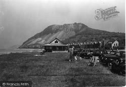 Llanfairfechan, Promenade And Mountain c.1935