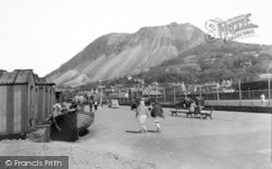 Llanfairfechan, Promenade And Recreation Ground c.1935