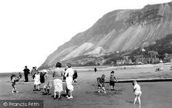 Llanfairfechan, Sands c.1935