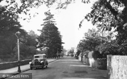 Llanfairfechan, Station Road c.1935