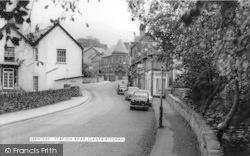 Llanfairfechan, Station Road c.1960