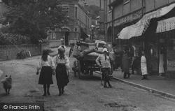 Llanfairfechan, Street Scene 1908