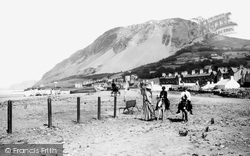 Llanfairfechan, The Beach 1890