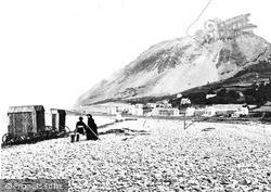 Llanfairfechan, The Beach c.1870