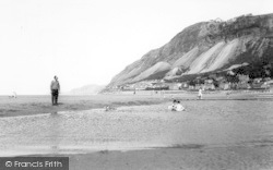 Llanfairfechan, The Beach c.1960