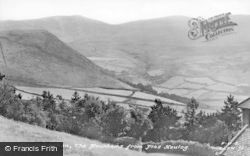 Llanfairfechan, The Mountains From Plas Heulog c.1935