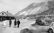 Llanfairfechan, the Promenade c1935