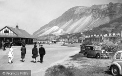 Llanfairfechan, The Promenade c.1935