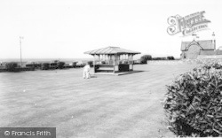 Llanfairfechan, The Putting Green c.1960