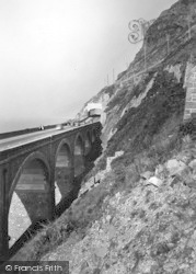 Llanfairfechan, The Viaduct c.1935