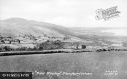 Llanfairfechan, View From Plas Heulog c.1955
