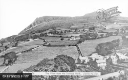 Llanfairfechan, View From Terrace Walk c.1935