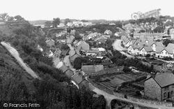 Llanfairfechan, View From Terrace Walk c.1935