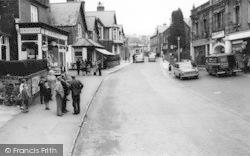 Llanfairfechan, Village Road c.1960