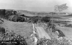 View From The Village c.1955, Llanfairynghornwy