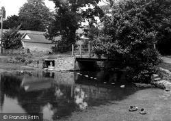 Llanferres, Entrance To Fairy Glen c.1955