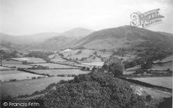 Llanfihanger Y Pennant, Cader Idris From Castle Hill c.1935, Llanfihangel-Y-Pennant