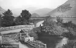 Llanfihanger Y Pennant, Caerberllan Bridge c.1935, Llanfihangel-Y-Pennant