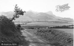 Llanfihanger Y Pennant, The Bird Rock From Castle Hill c.1935, Llanfihangel-Y-Pennant