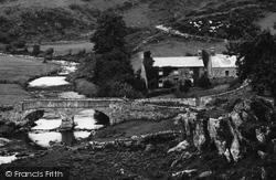Llanfihanger Y Pennant, The Bridge, Pennant Valley 1899, Llanfihangel-Y-Pennant