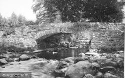 Llanfihanger Y Pennant, The Roman Bridge c.1935, Llanfihangel-Y-Pennant