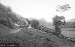 Llanfihanger Y Pennant, View Towards Bird Rock 1895, Llanfihangel-Y-Pennant