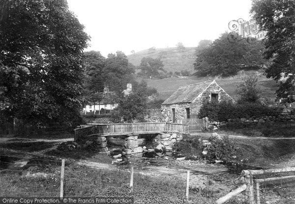 Photo of Llanfor, The Bridge 1913