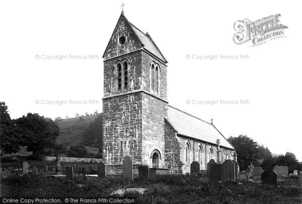 Photo of Llanfor, The Church 1888