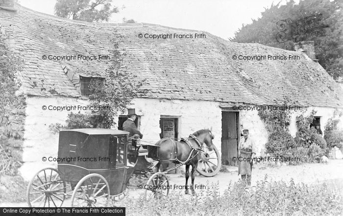 Photo of Llanfor, The Smithy c.1890