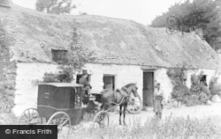 Llanfor, The Smithy c.1890