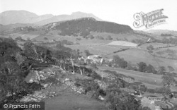 Llanfrothen, View Looking East From Brondanw Tower 1936