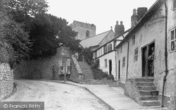 Llanfwrog, Church Of St Mwrog And St Mary The Virgin c.1900