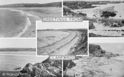 Llanfwrog, Composite c.1950