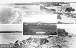 Llanfwrog, Composite c.1960