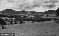 Llanfwrog, General View c.1955