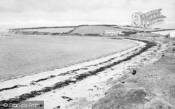 Llanfwrog, Peniel Dowyn Beach c.1960