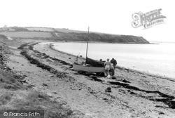 Llanfwrog, Penrhyn Beach c.1960