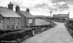 Llanfwrog, Post Office And Church c.1960