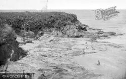 Llanfwrog, Sandy Beach And Headland c.1955