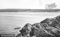 Llanfwrog, Sandy Beach c.1955