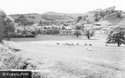 Llanfyllin, General View c.1960