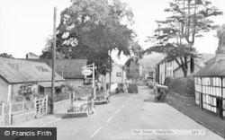 Llanfyllin, High Street  c.1960