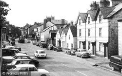 Llanfyllin, High Street c.1965
