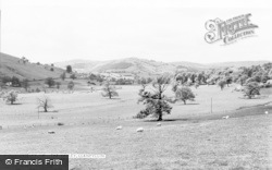 Llanfyllin, The Valley c.1960