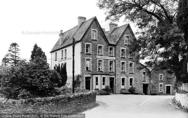 Photo of Llangammarch Wells, Cammarch Hotel c.1955