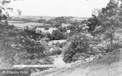 Llangammarch Wells, General View c.1955